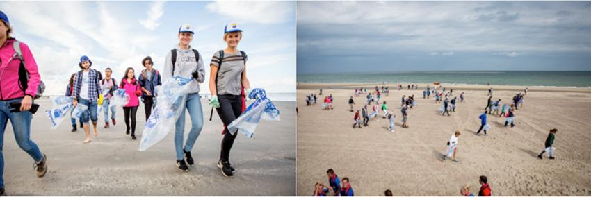 schoonmaakactie Noordzeestranden