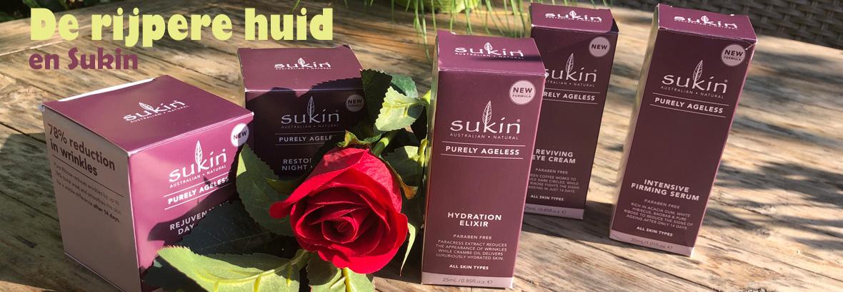 De rijpere huid en Sukin