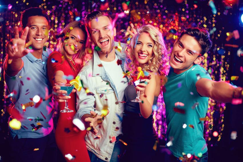 Het leven is één groot feest!
