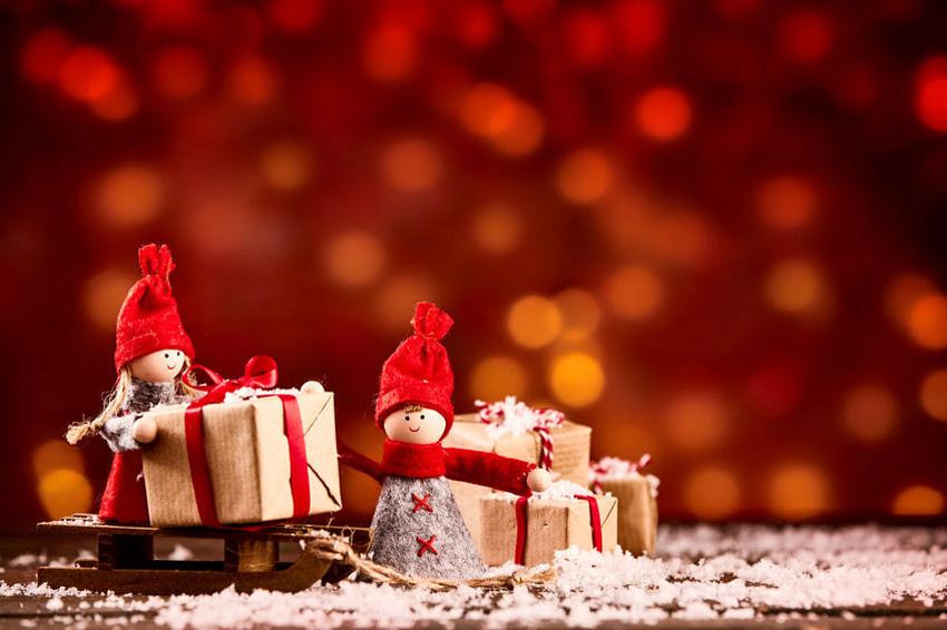 Kerstpakketten, wat leuk!