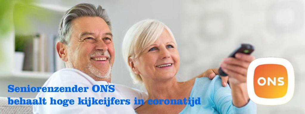 Seniorenzender ONS behaalt hoge kijkcijfers in corona-tijd