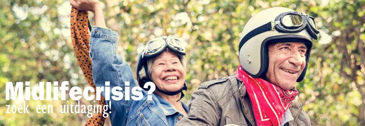 Last van de midlifecrisis? Zoek een nieuwe uitdaging!