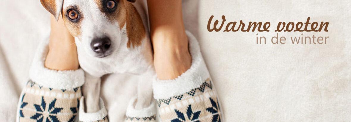 Warme voeten in de winter