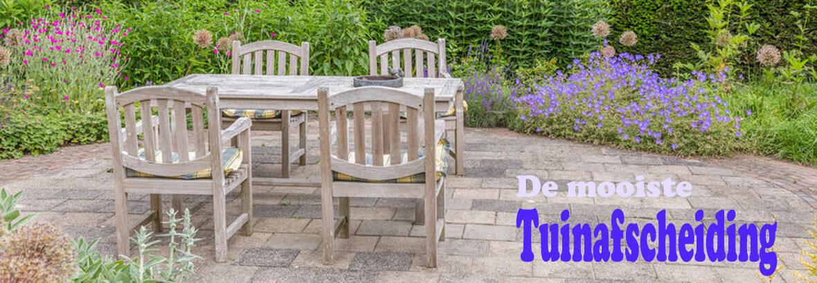 Dít is volgens tuinontwerpers de mooiste tuinafscheiding